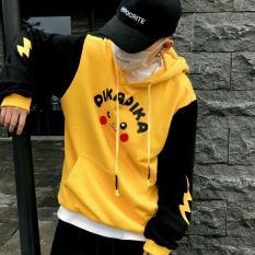 Áo hoodie pikachu cực dễ thương