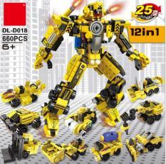Bộ lego 12 trong 1 – mô hình robot