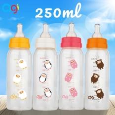 Bình sữa Agi cổ hẹp 250 ml mẫu mới có van chống sặc không BPA – BEEKIDS PLAZA