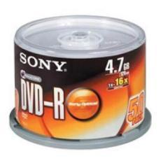 Đĩa dvd trắng ,Đĩa trắng DVD Sony 1 lốc 50 cái 4.7G hộp box