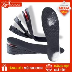 Miếng Lót Độn Đế Giày Đệm Khí Tăng Chiều Cao : 3cm (1 Lớp ), 5cm ( 2 Lớp), 7cm ( 3 Lớp) Tùy Chọn + Tặng Lót mũi giày Silicon