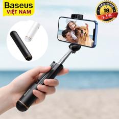 Gậy tự sướng không dây Baseus Mini Bluetooth Selfie Stick có thể gập lại Gậy chụp ảnh tự sướng cầm tay Có thể mở rộng Monopod cho iPhone 12 11 Pro Xiaomi Samsung