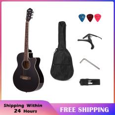 【Most Popular】38 Acoustic Folk 6-String Guitar for Beginners Students Gift – Hàng quốc tế | Lưu ý thời gian giao hàng dự kiến