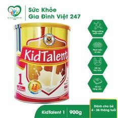 Sữa Kidtalent 1 – Hỗ trợ sự phát triển của trẻ từ 6-36 tháng tuổi (900g)