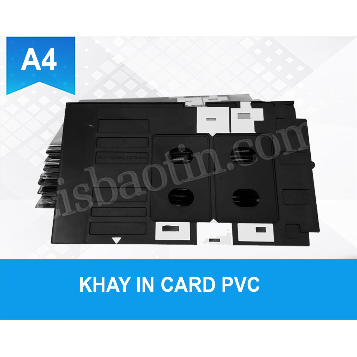 [HCM]KHAY IN THẺ - CARD PVC