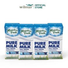 [Combo 4 lốc] Sữa tươi tiệt trùng Nguyên kem Meadow Fresh 200ml – lốc 3 hộp