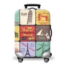 Túi bọc bảo vệ vali -Áo vỏ bọc vali H27- Size S- HPValiOEM