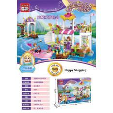 Xếp hình lego, công chúa phiêu lưu cùng du thuyền 2607