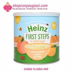 Cháo Ăn Dặm Heinz Cho Bé Trên 4 Tháng Tuổi 240g – Cháo Đào Mơ