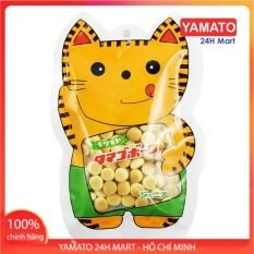 Bánh Ăn Dặm Men Sữa Hình Mèo 50G Nhật Bản , Bánh Dễ Tan, Chống Hóc Cho Bé, Bánh Ăn Dặm Kiểu Nhật