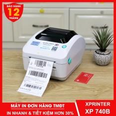 Máy in đơn hàng TMĐT Xprinter XP470B & XP490B Máy in nhiệt chuyên dụng in tem nhãn phiếu vận chuyển giao hàng – Dâu Mart