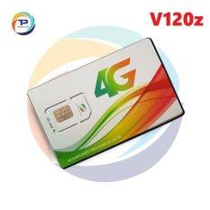 Sim 4G Viettel V120Z – 120GB/tháng (4GB/ngày) + 50 Phút gọi ngoại mạng + Gọi nội mạng miễn phí chỉ với 90k/tháng – Sim áp dụng toàn quốc – BẢO HÀNH 1 ĐỔI 1 từ MƯỜNG THANH ROYAL