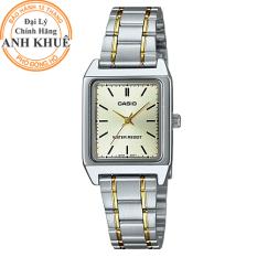 Đồng hồ nữ dây kim loại Casio Anh Khuê LTP-V007SG-9EUDF