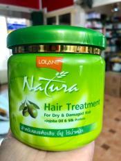 Kem ủ tóc chiết xuất OLIVE – LOLANE siêu mềm muợt 500g