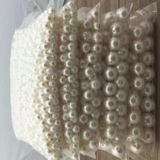 (210-230 hạt) 100g hạt trai nhân tạo,hạt trai trang trí kích thước 10mm