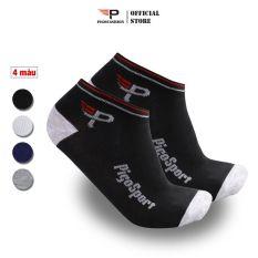 Bộ 4 Đôi Tất Vớ Nam Siêu Thoáng Pigo Fashion Cổ Ngắn Sợi Cotton Fs Vnp01 Cool 01 (Chọn Màu)- 4 Đôi