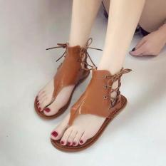 Sandal, giày chiến binh cột dây (phom nhỏ)