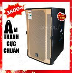 Loa Kéo Karaoke, Loa Bluetooth Yamaha GD1513 Thùng gỗ 4.5 tấc Tặng kèm 2 micro không dây Uhf