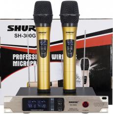 [ Hàng Cty ] Cách Chọn Micro Karaoke Không Dây Gia Đình , Micro Karaoke Không Dây , Mic Hát Karaoke Gia Re , Bộ 2 Micro Không Dây Shure Sh-300g Chông Nhiêu Chuyên Nghiệp , Cho Độ Nhạy Cao, Hút Âm Tốt , Âm Thanh Trung Thực Rõ Nét , Bh 12 Tháng.
