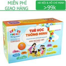 Flashcard: Bộ thẻ Song Ngữ Anh – Việt (có phiên âm) 16 chủ đề – 416 thẻ KamiToy vận chuyển