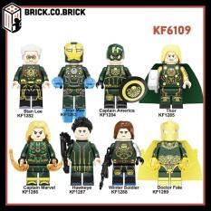 KF6109 – Đồ chơi lắp ráp mô hình non lego và minifigure Super Hero Marvels/ DC / Avenger siêu anh hùng Hydra.