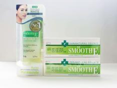 Mua 2 Kem dưỡng ẩm trị thâm Smooth E Cream 40g – Tặng 1 Sữa rửa mặt Smooth E White Gel 99ml