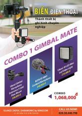 BỘ COMBO PHỤ KIỆN CHO ĐIỆN THOẠI – GIMBAL MATE BIẾN ĐIỆN THOẠI Thành Thiết Bị ghi hình chuyên nghiệp