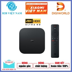 Android TV Box Xiaomi Mibox S 4K Ultra HD Global /Tiếng Việt/ RAM 2GB – Hãng phân phối