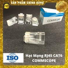 [Nhập NEWSELLERW4903 giảm 10% tối đa 100K] Combo 100 hạt mạng cao cấp RJ45 cat6 Commscope-sản phẩm siêu xịn – combo 100 sản phẩm chất lượng giá cả hợp lý độ bền cao dễ dàng sử dụng