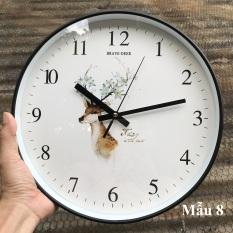 [ Nhiều Mẫu 2020 ] Đồng hồ treo tường trang trí đẹp, Máy Quartz kim trôi êm ái.