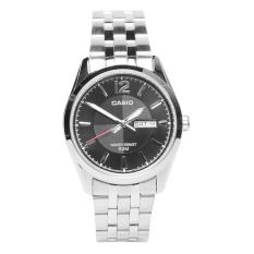 Đồng hồ nam dây thép không gỉ Casio MTP-1335D-1AVDF (Bạc)