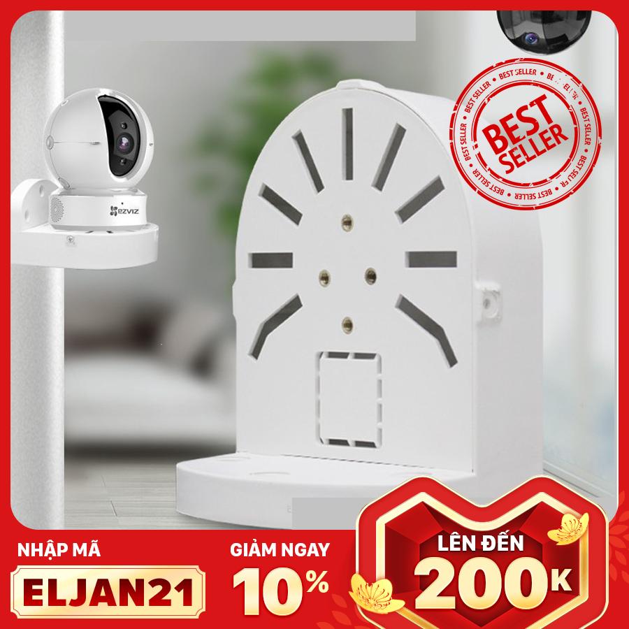 [Mã mới: ELJAN21 – Giảm 10% – Lên đến 200K] [Mua 3 giảm 10k – Theo dõi shop nhận thêm voucher 5K] Chân Đế Camera IP – Camera Wifi đa năng, gắn tường, trần nhà, nhựa chất lượng cao – Dành riêng cho camera Ezviz, Imou