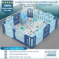Cũi nhựa cho bé Hàn Quốc Holla Kiddy 1m8x2m, hàng có sẵn, ship toàn quốc