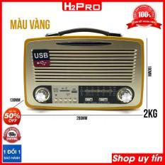 Đài radio Kemai MD-1700BT H2Pro 4 band AM-FM-SW, 10W-pin sạc, máy nghe nhạc hay có bluetooth-USB-Thẻ nhớ-AUX