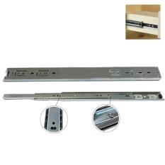 Thanh trượt bi 3 tầng, Ray trượt bi 3 tầng 35-40-45cm dùng cho ngăn kéo, bàn, tủ, kệ vi tính TAMARA-PK0101