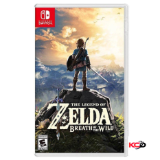 "Đĩa Game Nintendo "" The Legend Of Zelda : Breath Of The Wild "" New Seal"