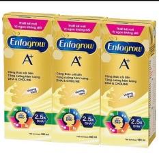 Lốc 3 hộp sữa nước Enfagrow A+ 180ml