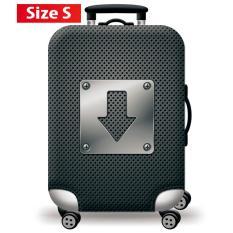 Túi bọc bảo vệ vali -Áo vỏ bọc vali – H14 Size S M L HPValiOEM