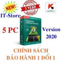 KASPERSKY INTERNET SECURITY – 2020 – 5PC/Năm – BOX NAM TRƯỜNG SƠN