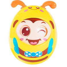 Lật đật cho bé hình chú ong nhắm mở mắt ngộ nghĩnh có tiếng chuông vui tai cho bé trai và bé gái BBShine – DC042