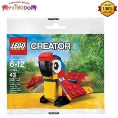 Đồ Chơi Lắp Ráp LEGO Vẹt Sặc Sỡ 30472