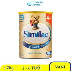 Sữa bột Similac Eye-Q 4 HMO 1.7kg Gold Label