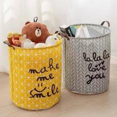 Sọt vải đựng đồ dùng gia đình có thể gấp gọn, đồ dùng gia đình, túi sọt đựng đồ, đồ dùng phòng ngủ (LB03), Huy Linh