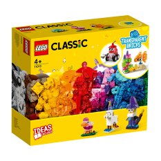 MYKINGDOM – LEGO CLASSIC Hộp Lắp Ráp Sáng Tạo Trong Suốt 11013
