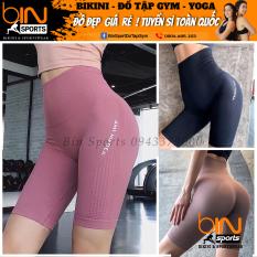 Quần Tập Gym Nữ Ami Dệt Kim Quảng Châu Cao Cấp Bin Sports Q056