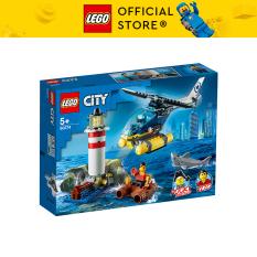 LEGO CITY 60274 Trực Thăng Bắt Cướp Trong Ngọn Hải Đăng ( 189 Chi tiết)