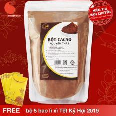 Cacao nguyên chất 100% – Bột cacao – Light Ca cao – 500gr