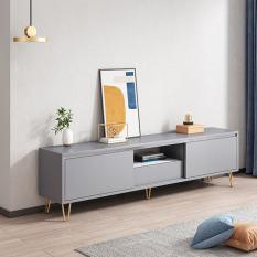 Kệ Tủ tivi kết hợp ngăn chứa đồ cao cấp 1m4 Tủ kệ tivi hiện đại cao cấp KTV012
