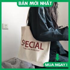 Túi tote, Túi vải canvas cao câp Special đi học đi làm phong cách Hàn Quốc