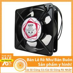 Quạt Thông Gió, Hút Mùi, Tản Nhiệt Mini Sunon 220V 12x12x4cm
